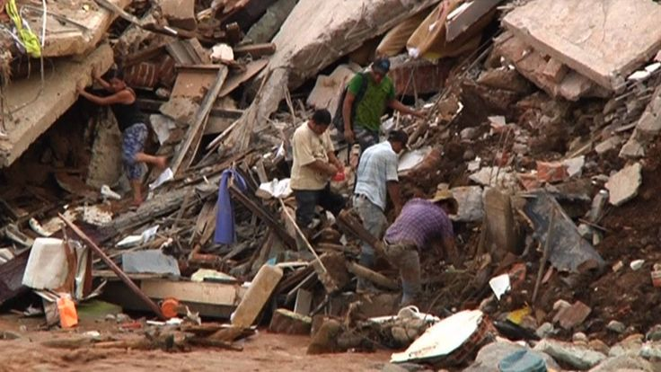 In Colombia, more than 230 people have died in mudslides and an avalanche after the city Mocoa received as much rainfall in one night as it usually receives in half the month of March. Colombian President Juan Manuel Santos pinned the disaster on climate change. Meanwhile, nearly a dozen people are feared to be dead on the Indonesian island of Java after torrential rain triggered a landslide there. And in Australia, three people have been killed, and tens of thousands displaced, by…