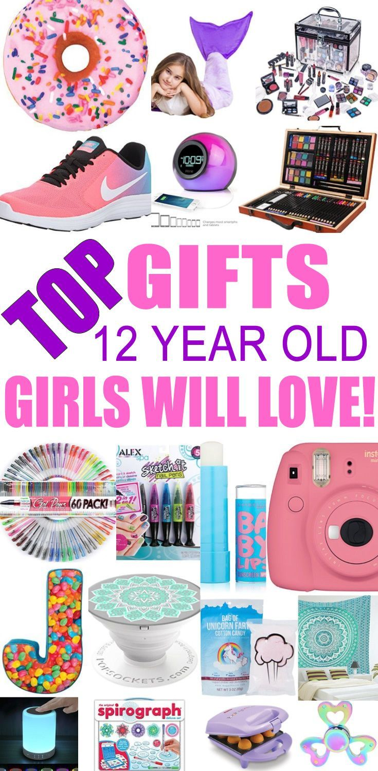 Top Gifts For  Year Old Girls Best Gift Suggestions Presents For Girls Twelfth Birthday Or Christmas Find The Best Ideas For A Girls Th Bday Or