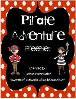Yo Ho Ho... A Pirate Freebie for you