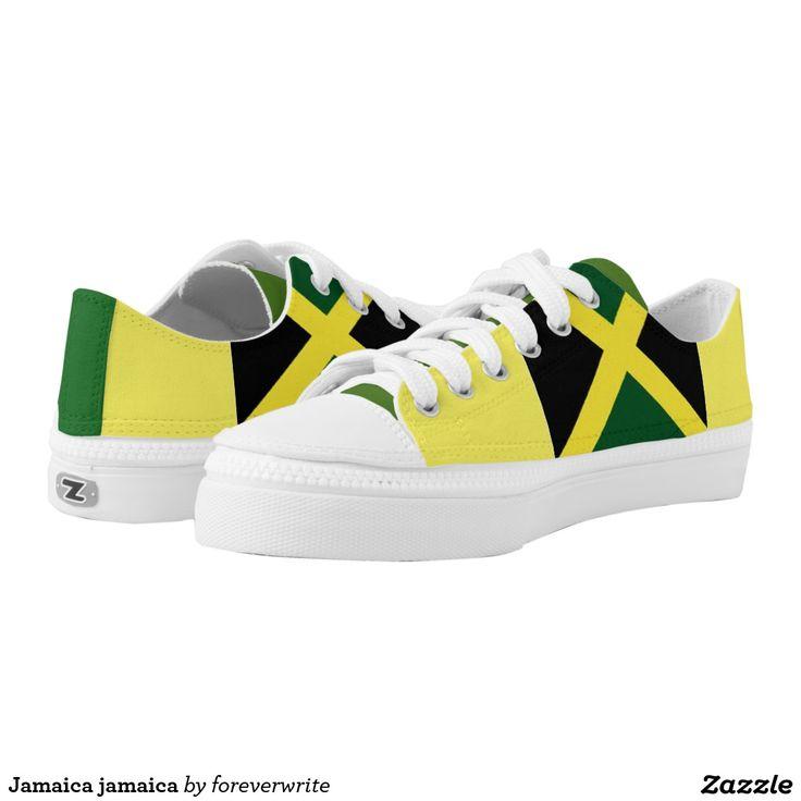 #Jamaica jamaica printed shoes