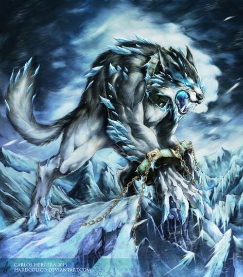 Hombre lobo artico