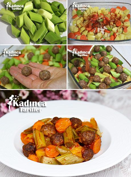firinda-kofteli-pirasa-yemegi-tarifi