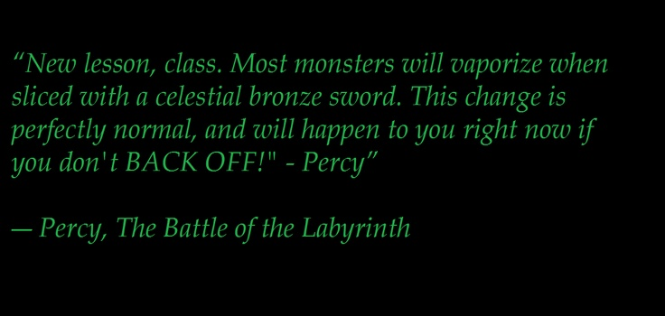 Percy Jackson- The Battle of the Labyrinth By Rick Riordan