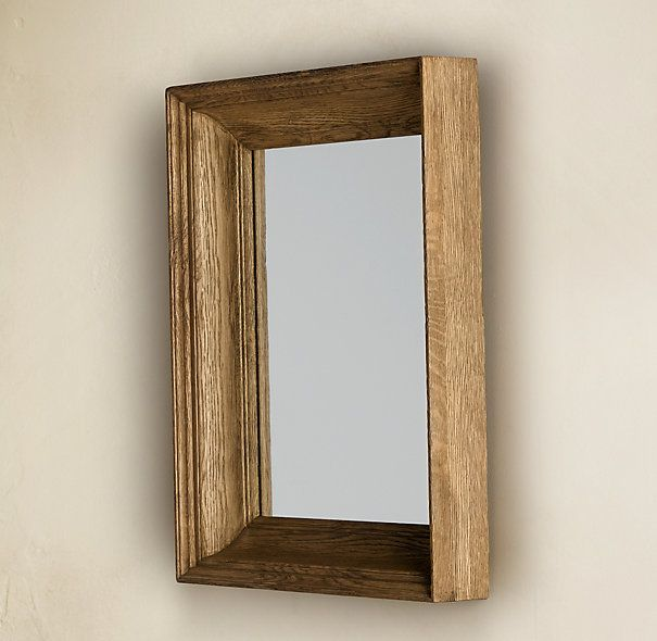 17 best images about decor mirror mirror on pinterest for Restoration hardware round mirror
