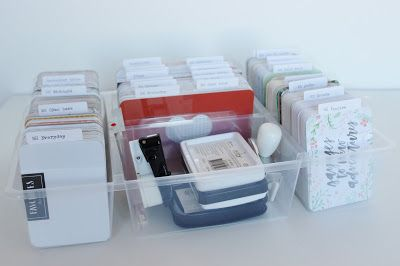 colours of bennett: it was about time ... how to organize your stamps and PL cards?