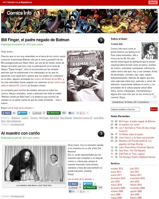 Comics Info