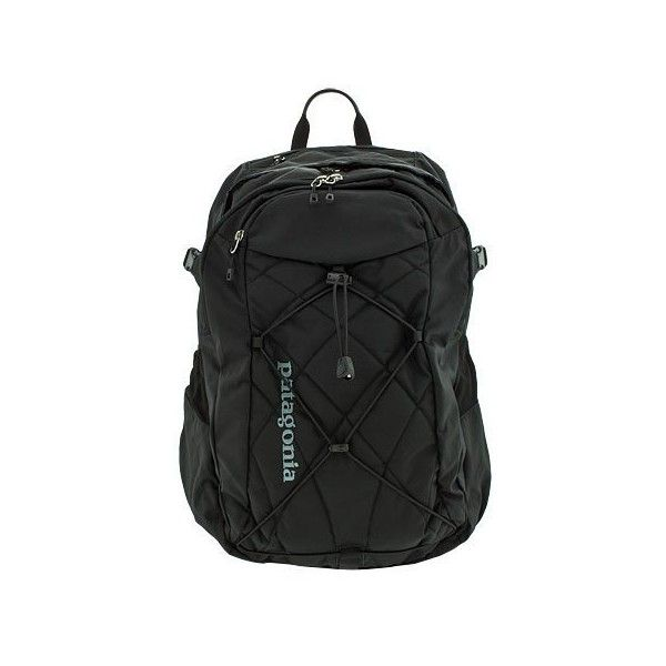 Patagonia Backpack Cascada 30L Black ❤ liked on Polyvore featuring bags, backpacks, patagonia bag, patagonia daypack, black backpack, black bag and black knapsack
