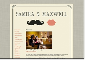 Your 11 favorite wedding website templates