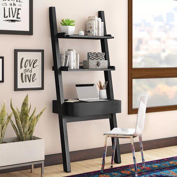 Bowersville Ladder Writing Desk Ladder Desk Office Furniture Modern Desk And Chair Set