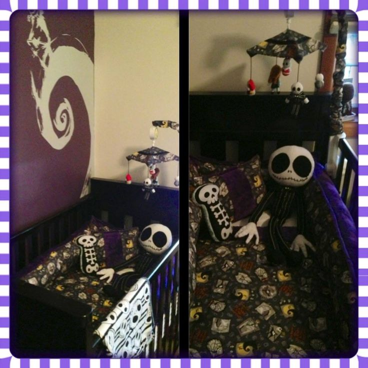 50 best Jack skeleton images on Pinterest Christmas baby - nightmare before christmas bedroom decor