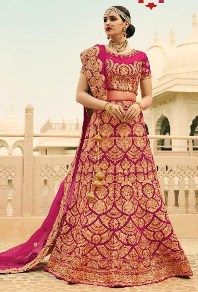 a47062ebe1 Girls Lehenga Choli Ethnic Bollywood Designer Indian Wedding Suit Dress  Online