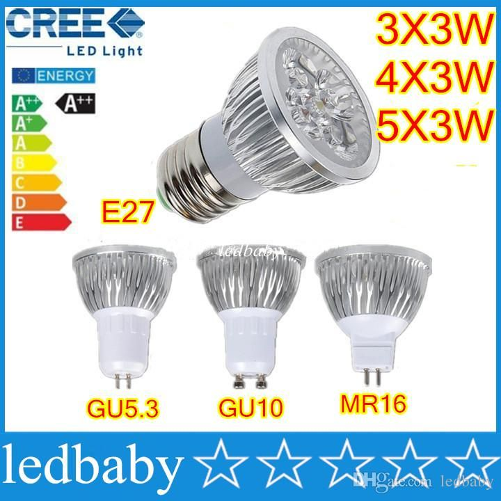 High Power CREE Led Bulbs 9W 12W 15W Dimmable GU10 MR16 E27 E14 GU5.3 B22 Led Spot Light Spotlight Lamp Lighting Online with $3.17/Piece on Ledbaby's Store | http://www.dhgate.com/store/product/high-power-cree-led-bulbs-9w-12w-15w-dimmable/374757668.html