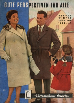 Versandhauskatalog  DDR Catalogue former East Germany -  What's not to smile about?  LOL!