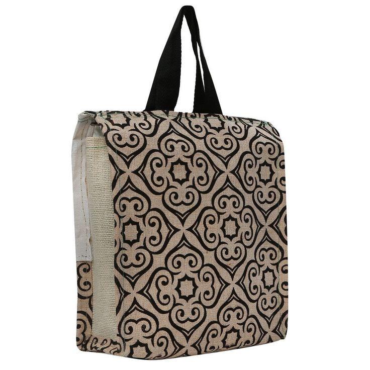 #Estilo Store #Abstract #Handy Jute #Bag