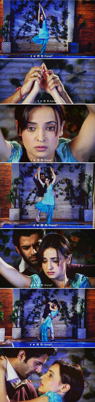 Arnav catches Khushi when she's almost falling #ipkknd #isspyaarkokyanaamdoon