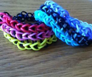 Rainbow Loom- Triple Single Bracelet!