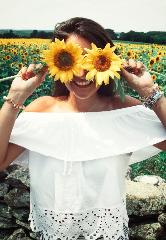 feeling the sunflower vibe :)