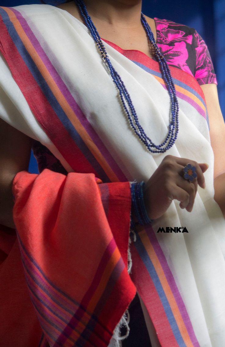 Tale Of A Saree-holic — Menka :: Cotton Mantra :: Fall 2015 :: Look Book...