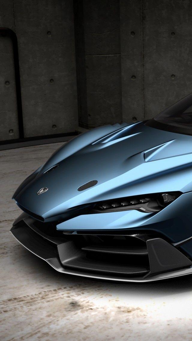 Italdesign Zerouno Duerta Geneva Motor Show 2018 4k Vertical Super Cars Custom Muscle Cars Sports Cars