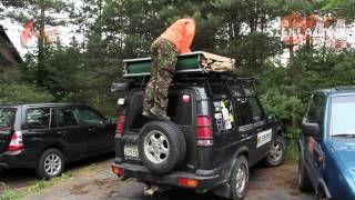 Rozkładanie namiotu dachowego do samochodu terenowego można go kupić u nas w http://www.szakla4x4.pl