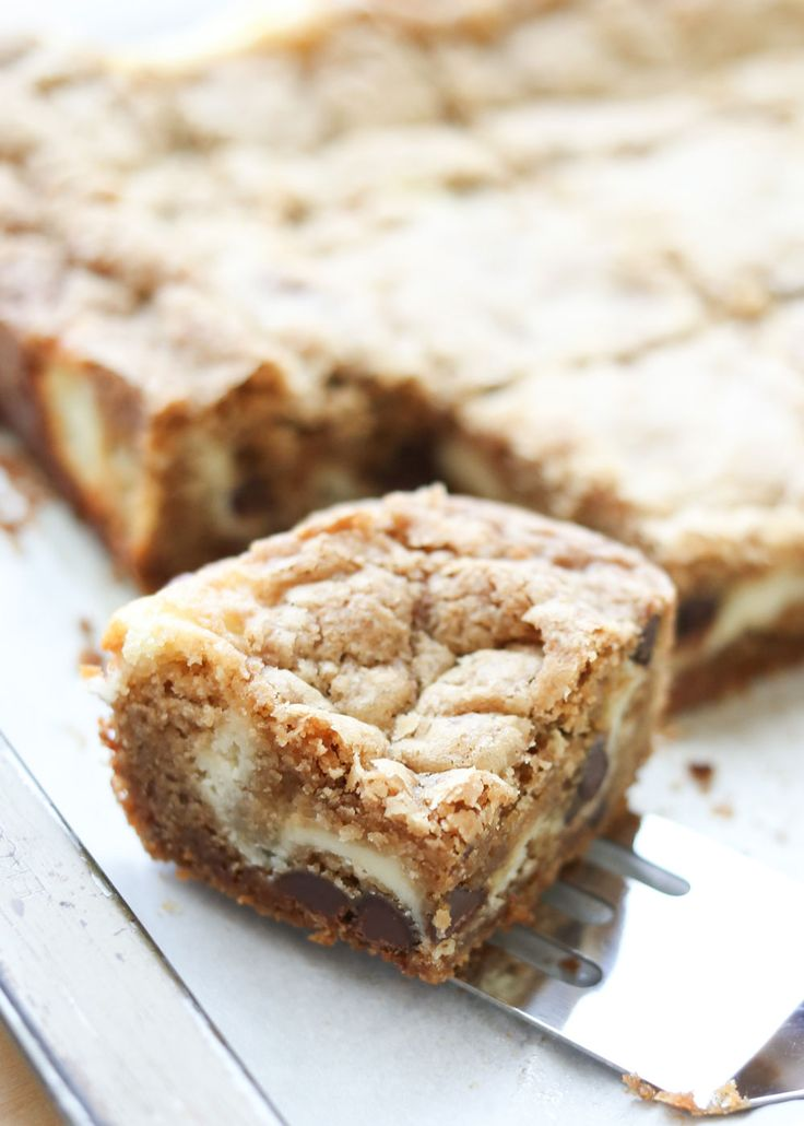 The Best Cheesecake Cookie Bars {traditional and gluten free recipes} by Barefeet In The Kitchen