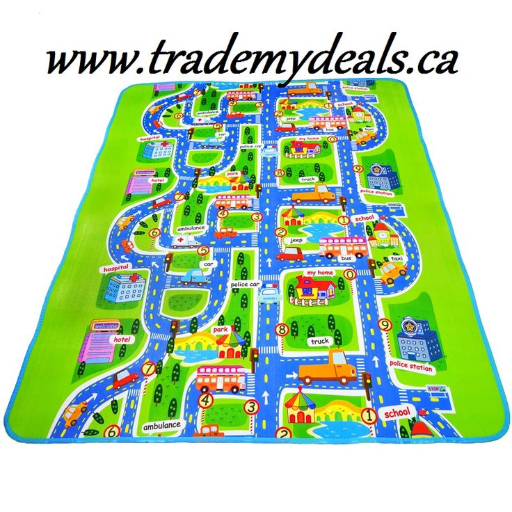 City style High quality Baby play mats Size:200*160*0.3cm baby crawl mat Baby Carpet Pad Toys For Kids Rug