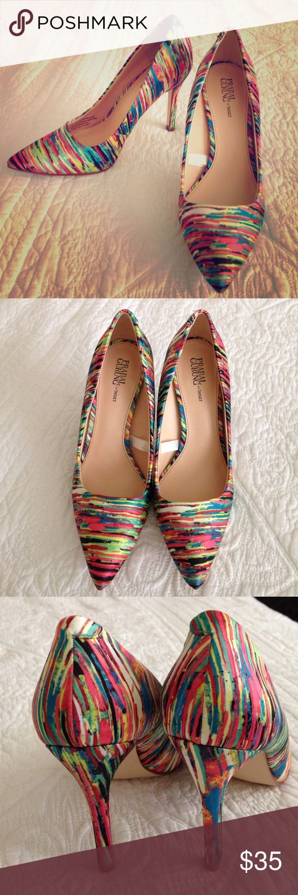 Prabal Gurung for Target heels Excellent condition! Worn once- looks absolutely brand new! A real outfit maker! Perfect with jeans or a little black dress. Prabal Gurung for Target Shoes Heels