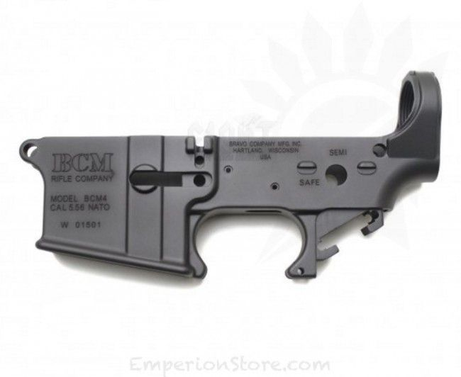 Bravo Styled Aluminium Lower Receiver (Anodized + Cerakote Coating) - FCC