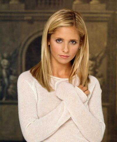 Sarah Michelle Gellar- always had a crush on BUFFY!