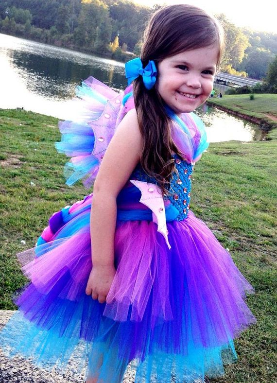 seahorse tutu dress halloween costume pageant by blissycouture 105