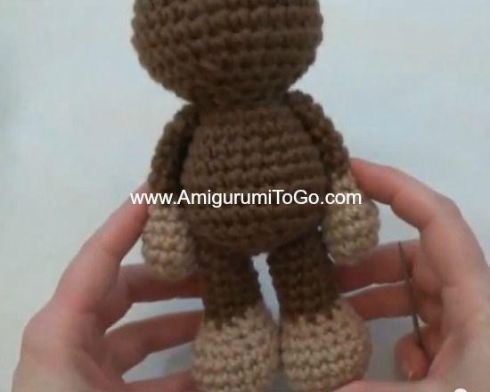 Amigurumitogo Little Bigfoot Monkey : 17 Best images about Crochet on Pinterest Free pattern ...