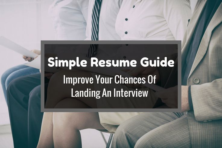 The goal of your resume is to get you an interview for the job. Here are some simple resume guide to improve your interview success rate.