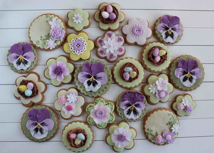 https://flic.kr/p/rQ6qEa | Easter decorated cookies