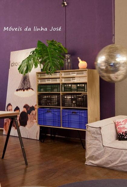 popular look cabinet + disco ball