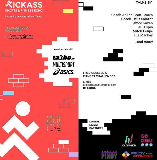 Kickass Manila: Sports & Fitness Expo at Commercenter | Health Junkie