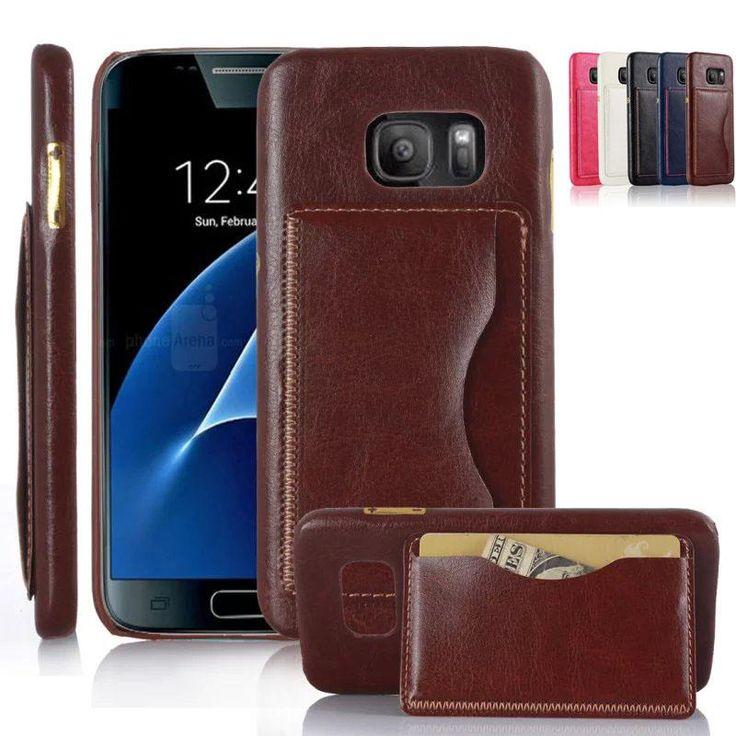 Mewah Vintage Dompet Pu Sandal Kulit Kasus Penutup Untuk Samsung Galaxy, S7 Tepi / G9350 / G935a Telepon Kasus Dengan Pemegang Kartu Top Rated Cell Phones Leather Phone Cases From Huang2131031, $7.21  Dhgate.Com