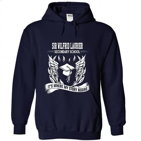 Sir Wilfrid Laurier Secondary School - Its where my sto - cool t shirts #tee shirt design #printed shirts