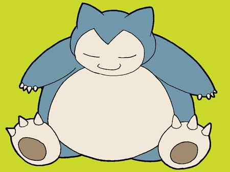 How To Draw Snorlax From Pokemon With Easy Step By Drawing Lesson