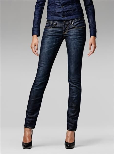 G-Star RAW — 3301 Straight Wmn - Women - Jeans