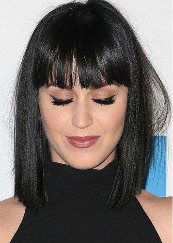Cabelo curto com franja - Katy Perry                                                                                                                                                                                 Mais