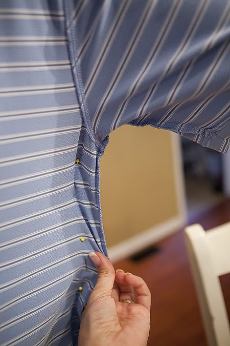 Tailoring shirts - how to make your shirt smaller