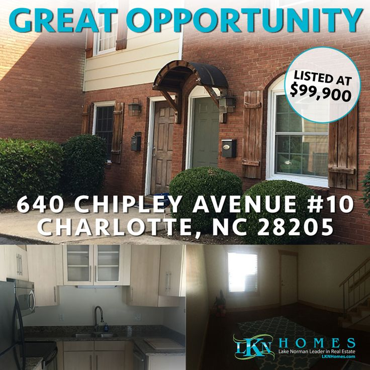 GREAT OPPORTUNITY IN CHARLOTTE!  Affordable Living or Great Investment Opportunity in this Cute and Charming Townhome Located Just Minutes from Center City and Uptown! Modern Style Interior Features Polished Concrete Floors, New Carpet, Granite Countertops, Modern Design Cabinetry, Stainless Steel Appliances, Updated Master Bath with European Vessel Sink and Storage. Kitchen Leads to Private Enclosed Patio Area with Shared Fenced In Rear Yard. Quiet Neighborhood. Easy Access to Uptown…
