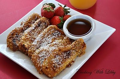 how to make french toast sticks without milk