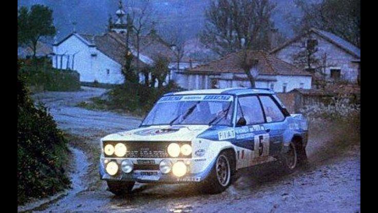 Rally de Portugal 1980 Walter Rohrl