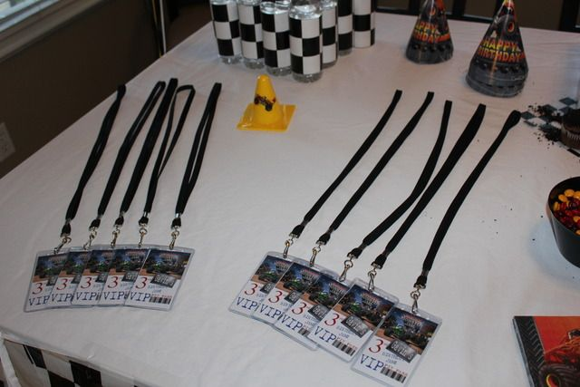 """pit passes Photo 1 of 37: Monster Truck / Birthday """"Monster Jam Party"""" 