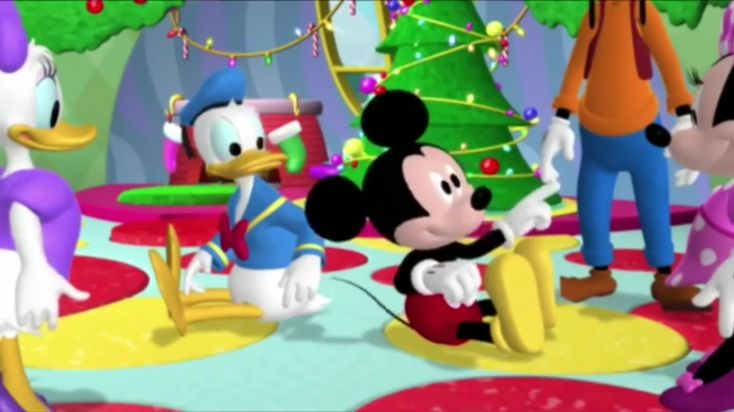Mickey Mouse Clubhouse - Mickey Saves Santa (Goofy) (episode this five)