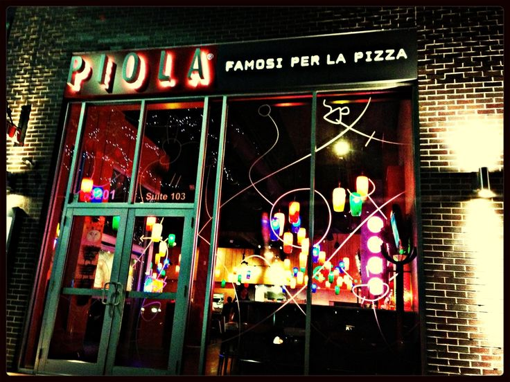 Piola Pizza Pie. Houston. One of my favorite restaurants EVER.