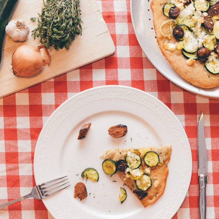 Magazine - Meilleure recette de pizza aux courgettes