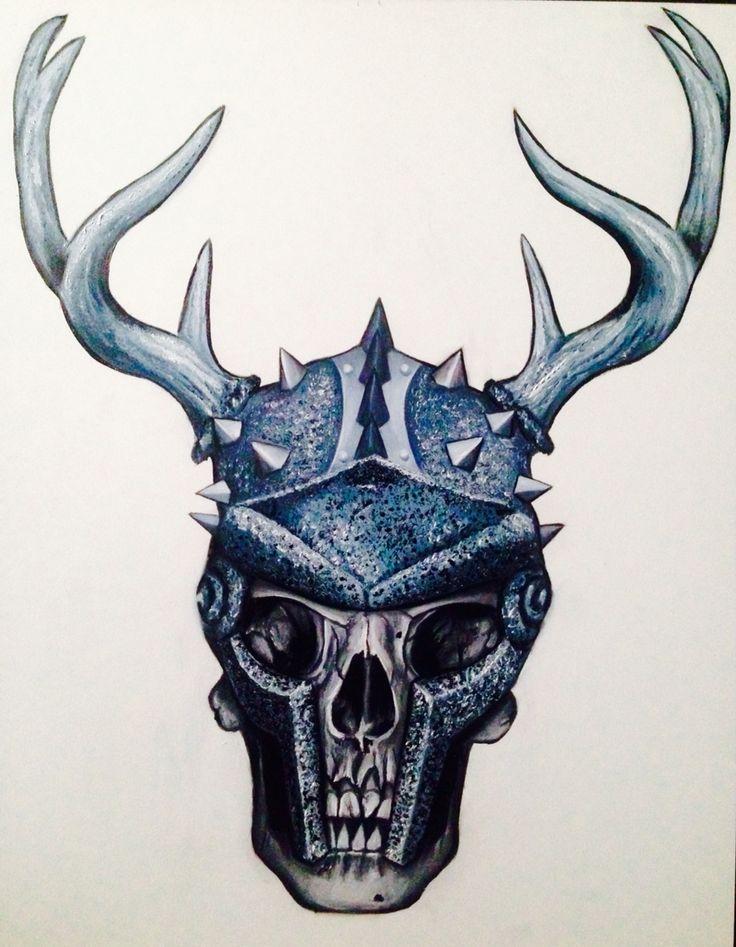 Zone skull logo