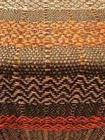 chalina de algodón con seda, cuero, cintas, ligamentos especiales